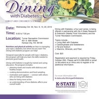 Fall Dining with Diabetes Class Series