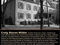 The Reuben A. and Cheryl Casselberry Munday Distinguished Lecture with Craig Steven Wilder