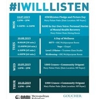 #IWillListen Pledge and Picture Day