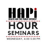 HAPI Hour Seminar: Dr. Maxine Weinstein