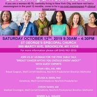 Free Breast Cancer Screening & Wellness Event