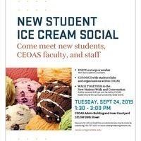 CEOAS New Student Ice Cream Social