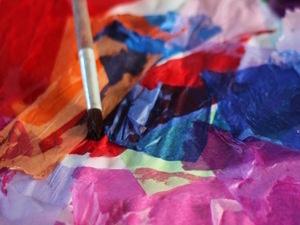 Resist Art: Tissue