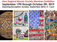 Creative Expressions in Contemporary Mosaic Art Opening Reception