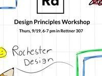 Rochester Design Workshop Series: Design Principles Workshop