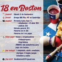 "Chilean National Day Celebration ""18 en Boston"""