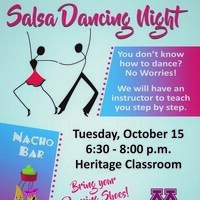 Salsa Dancing Night