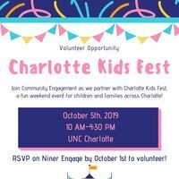 Volunteering with Charlotte Kids Fest