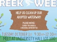 6th Annual Creek Week Cleanup