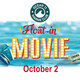 Ocean11 Float-In Movie