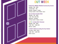 National Coming Out Week: Out and About Garden Walk