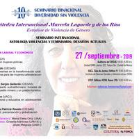 """Telecast: """"Seminario Binacional Diversidad sin Violencia: Antología, Violencias y Feminismos: Desafíos Actuales."""""""