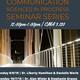 Communication Sciences in Progress Seminar Series