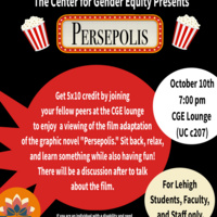 5 x 10 Event: Persepolis Movie Viewing and Discussion