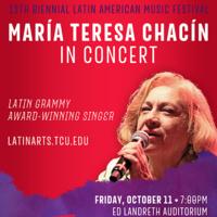 Guest Artist Concert featuring María Teresa Chacín, Latin Grammy Award-winning singer