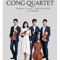 Guest Artist Series: Cong Quartet