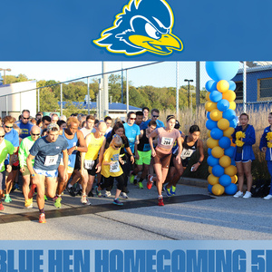 UD Blue Hens Homecoming 5k