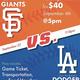 Giants vs. Dodgers Game