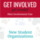 New Student Organizations Mini Involvement Fair