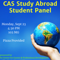 CAS Study Abroad Panel