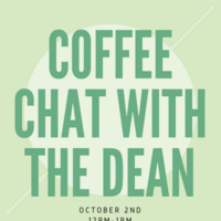 Coffee Chat with the Dean