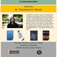 """""""1619"""" After Charlottesville:  Race and Politics of Commemoration"""