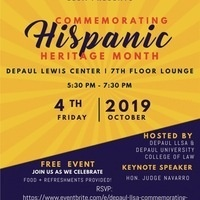 DePaul LLSA Commemorating Hispanic Heritage Month
