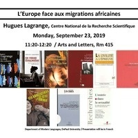 L'Europe face aux migrations africaines