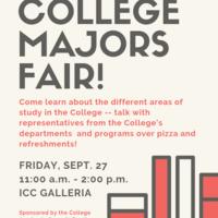 College Majors Fair