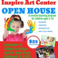Inspire Art Center Open House