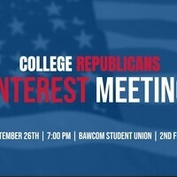 College Republicans Interest Meeting