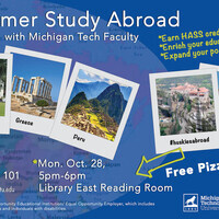 Summer 2020 Study Abroad Information Session
