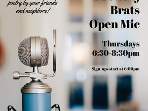 Brews and Brats Open Mic