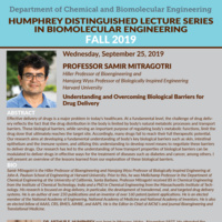 ChBE Seminar Series - Dr. Samir Mitragotri