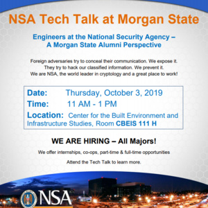 NSA Tech Talks: Engineers