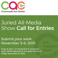 Call for Entries - November Juried All Media Show