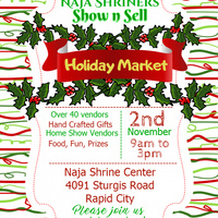 Naja Shriners Show n Sell Holiday Market