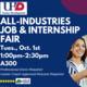 All Majors/All Industries Job Fair
