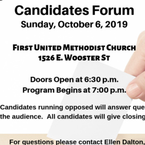 Election 2019 Candidate Forum