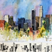 Watercolor Demonstration by Joe Stoddard