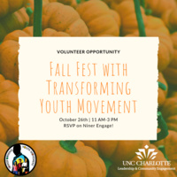 Fall Fest with Transforming Youth Movement