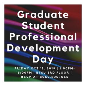 Graduate Student Professional Development Day