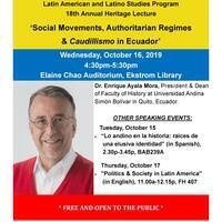(CANCELLED) 18th Annual Latin American and Latino Studies Heritage Lecture