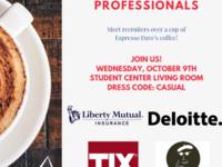 ALPFA's Coffee Talk with Liberty Mutual and TJX!