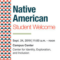 Native American Student Welcome