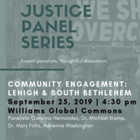 MLK Celebration Committee Justice Series: Lehigh & South Bethlehem