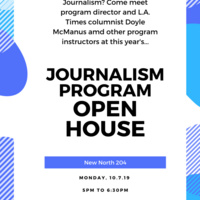 Journalism Department Open House