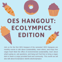 OES Hangout: Ecolympics Edition