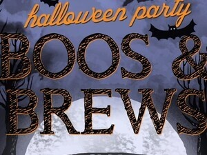 Boos and Brews Halloween Party