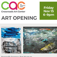 November Open House + Artist Reception